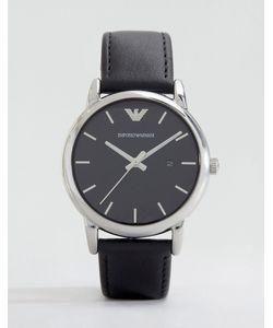 Emporio Armani | Часы С Кожаным Ремешком Ar1692 Черный