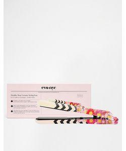EVA NYC | Kерамический Yтюжок-Выпрямитель Healthy Heat Floral Chevron Floral