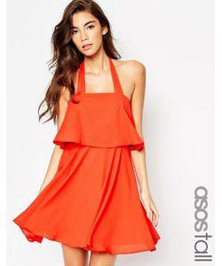 ASOS TALL | Приталенное Платье Бандо На Широких Бретельках