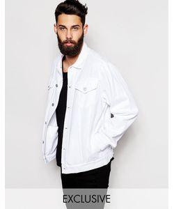 Reclaimed Vintage | Джинсовая Оversize-Куртка Белый