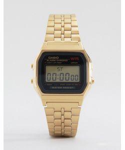 Casio | Электронные Часы С Золотым Ремешком A159wgea-1ef Золотой