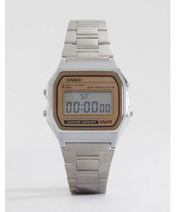 Casio | Цифровые Часы Classic Retro A158wea-9ef Серебряный