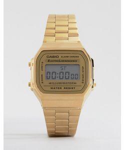 Casio | Позолоченные Цифровые Часы A168wg-9ef Золотой