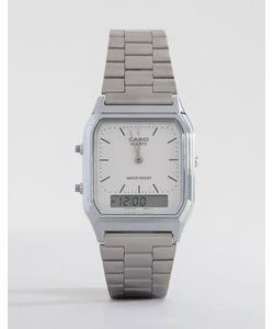 Casio | Электронные Наручные Часы Aq-230a-7dmq Серебряный