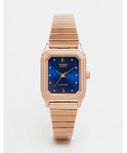 Casio | Часы В Винтажном Стиле Lq 400r 2aef Розовое Золото