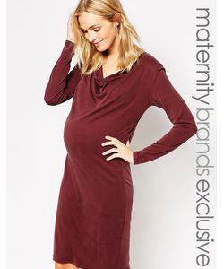 Mama Licious | Облегающее Платье С Овальным Вырезом Mamalicious