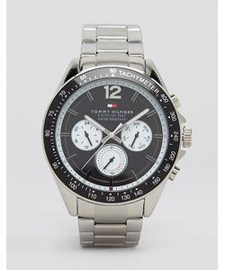 Tommy Hilfiger | Часы Из Нержавеющей Стали Luke 1791120 Серебряный