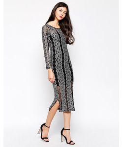Ukulele | Платье С Кружевной Накладкой Star