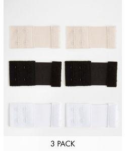 Fashion Forms | Застежки-Расширители Для Бюстгальтера С 3 Крючками Мульти
