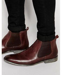 Base London | Кожаные Ботинки Челси Коричневый