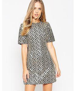 Asos | Цельнокройное Платье Черный