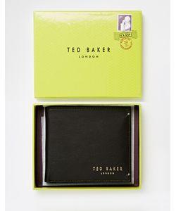 Ted Baker   Кожаный Складной Бумажник С Отделением Для Монет Antony
