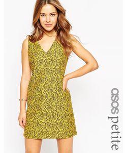ASOS PETITE | Кружевное Цельнокройное Платье Мульти