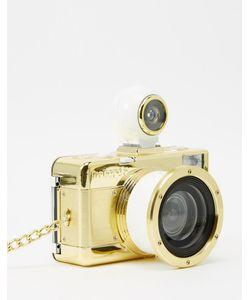 Lomography | Золотистый Фотоаппарат Fisheye 2 Золотой