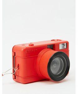 Lomography | Kомпактный Фотоаппарат С Объективом Рыбий Глаз Красный