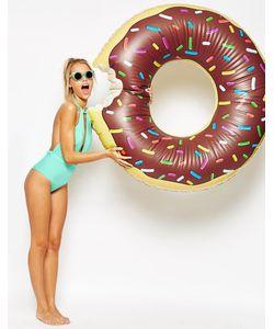 Big Mouth | Надувной Круг В Виде Шоколадного Пончика Мульти