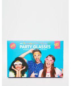 Doiy | Бумажные Очки Для Вечеринки Crazy 10 Шт.