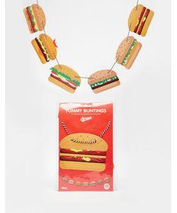 Doiy | Флажки-Гамбургеры Yummy