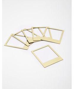 Doiy | Магнитные Золотистые Рамки В Стиле Polaroid От Золотой