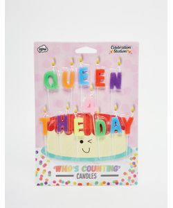 NPW | Свечи Для Торта Queen For The Day Мульти