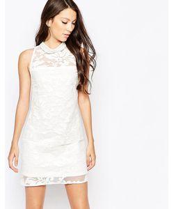 Key Collections | Платье Ashley Roberts Специально Для Белый