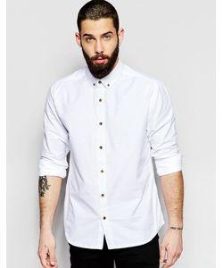 Only & Sons | Оксфордская Рубашка Классического Кроя Белый
