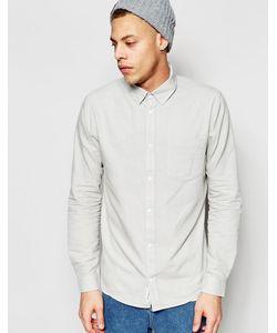 Cheap Monday | Белая Оксфордская Рубашка Классического Кроя С Одним Карманом