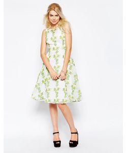Traffic People   Платье С Цветочным Принтом Twirl