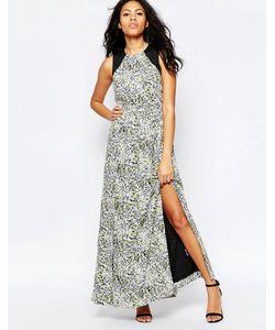 Sugarhill Boutique | Платье Макси С Пятнистым Принтом Lottie Мульти