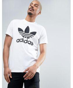 adidas Originals | Футболка С Логотипом-Трилистником Aj8828 Белый