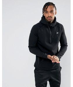 Nike   Худи Черного Цвета С Короткой Молнией Modern 885969-010