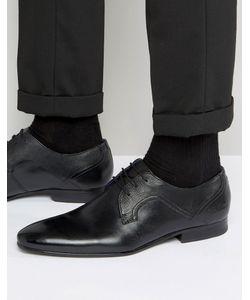 Ted Baker | Кожаные Туфли Дерби Pelton Черный