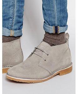 Jack & Jones | Замшевые Ботинки Чукка Gobi Серый