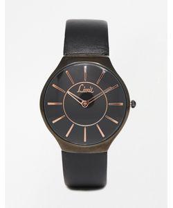 Limit | Черные Часы С Минималистским Дизайном