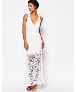 WYLDR | Кружевное Платье Макси Dramatic Белый