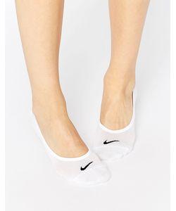 Nike | 3 Пары Легких Незаметных Носков Белый