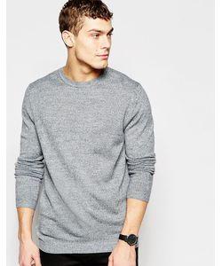 Asos | Серый Джемпер С Круглым Вырезом Серый