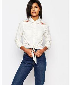 Vero Moda | Рубашка С Вышивкой В Стиле Вестерн Белый