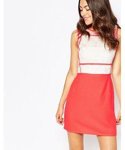 Jovonna Premier | Платье С Кружевной Вставкой В Цветочек So Little Time