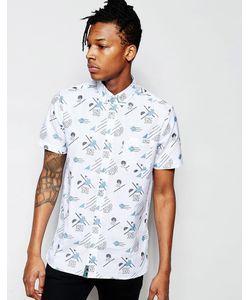 Wasted Youth | Рубашка С Короткими Рукавами И Узором В Стиле 90-Х