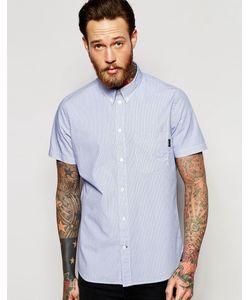 Paul Smith | Классическая Рубашка В Тонкую Полоску С Короткими Рукавами