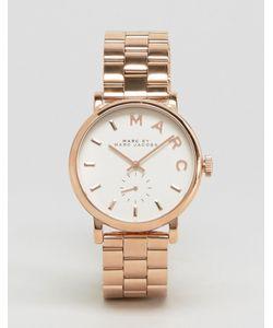 Marc Jacobs | Часы С Отделкой Под Розовое Золото Baker Mbm3244