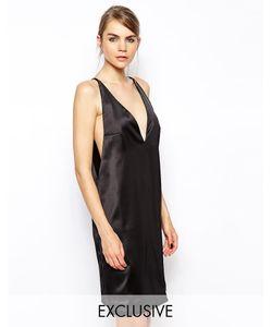Solace | Платье Мини С Глубоким Декольте И Заниженными Проймами London R