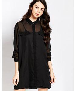 Pippa Lynn | Цельнокройное Платье С Геометрическими Вставками
