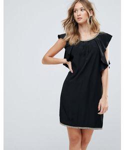 Deby Debo | Коктейльное Платье С Оборкой