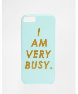 BAN DO | Чехол Для Iphone 5 С Надписью I Am Very Busy Ban.Do