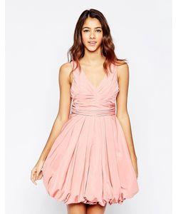 STUDIO . 75 | Розовое Платье С Пышной Короткой Юбкой Darla Розовый