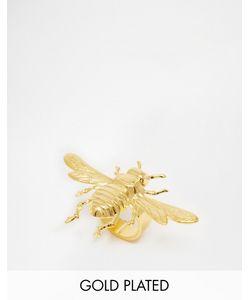 Mordekai | Кольцо В Виде Пчелы С Покрытием Золотом 24 Кт