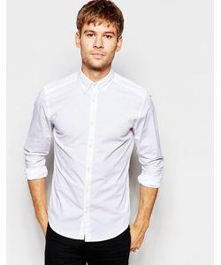 Esprit | Рубашка Классического Кроя С Воротником На Пуговицах Белый