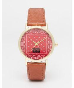 Reclaimed | Часы С Платочным Принтом Vintage
